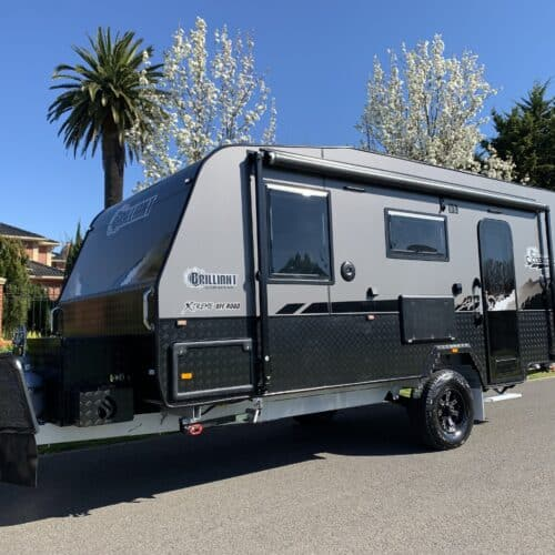 In Stock now 2021 Brand new 18ft Brilliant Cobra XL Full off road and full en-suite